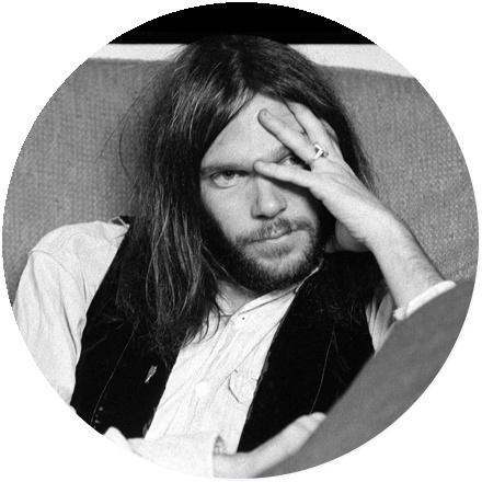 Icon Neil Young