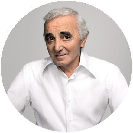 Icon Charles Aznavour