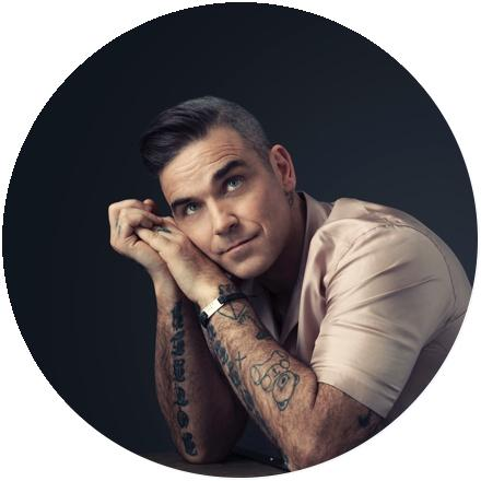 Icon Robbie Williams