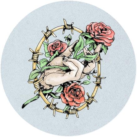 Icon Fallen Roses