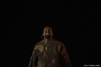 Icon Kanye West deelt foto van kampeerplek in stadion Atlanta